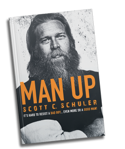 MAN UP book by Scott Schuler